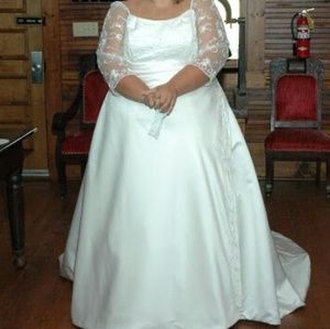 Plus size Mary's Bridal Wedding Gown Size 28/30